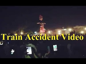 amritsar train accident live Video Footage Yesterday