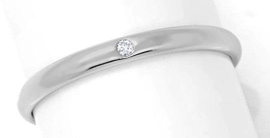 Original-Foto 2, ORIGINAL NIESSING DIAMANTRING PLATIN, BRILLANT SHOP NEU