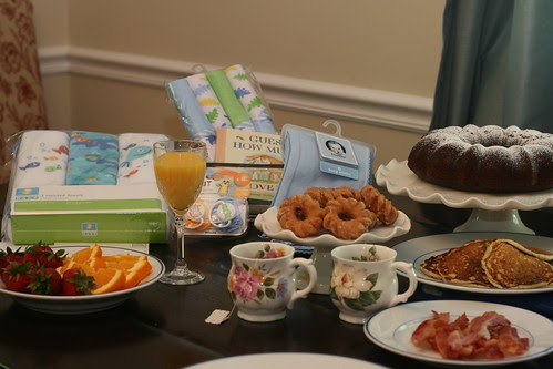 Racheal's breakfast baby shower