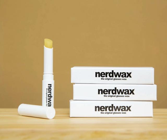【四眼仔/妹必備】美國製 nerdwax 眼鏡防滑蠟 天然成份、一塗即固定眼鏡