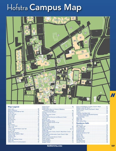 Hofstra University Map Hofstra University Campus Map | World Map Gray