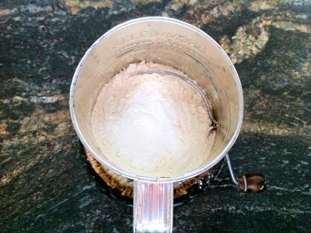 Flour and Leveners in Flour Sifter