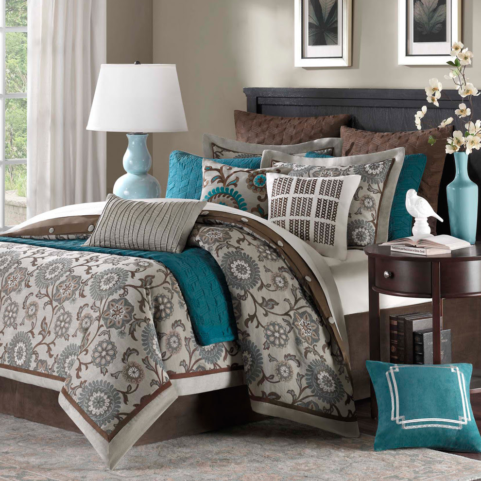 14 Beautiful Bedroom Color Schemes | Color Blocking ideas ...