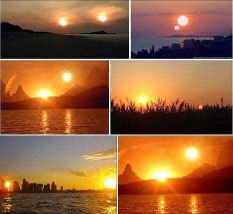 δύο ήλιοι, nibiru, πλανήτη X, 2 αστέρια στον ουρανό