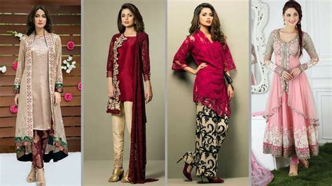 Latest Party Wear Dress Designs For Ladies 2018 2019