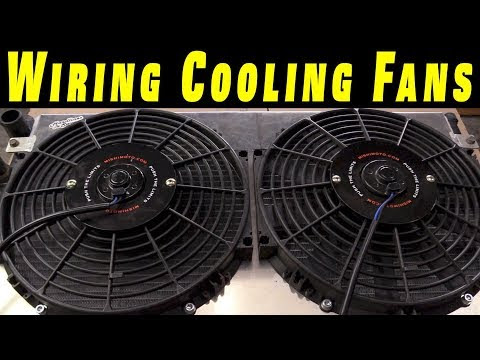 video cooling components fan wiring diagram
