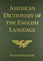 American Dictionary of the English Language…