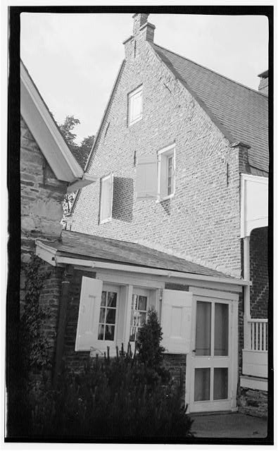 5.  Historic American Buildings Survey, Thos. T. Waterman, Photographer '36. - Peter Bronck House, West Coxsackie, Greene County, NY