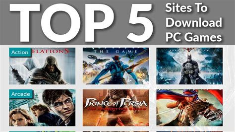 top    pc games  websites  youtube