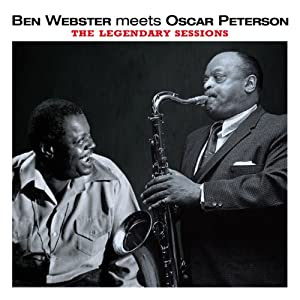 Ben Webster and Oscar Peterson - Ben Webster Meets Oscar Peterson cover