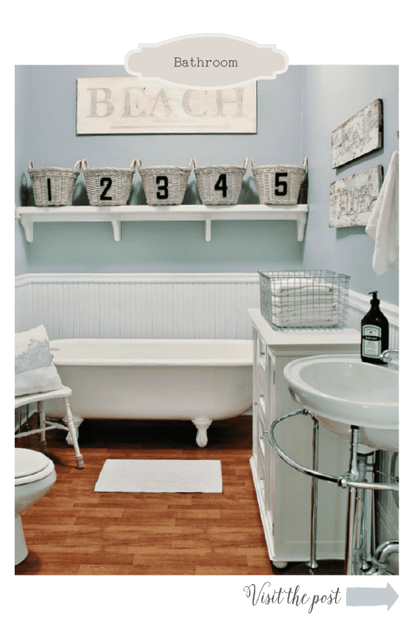 home tour guest bathroom
