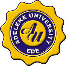 Adeleke University Undergraduate Admission Screening Form for 2017/2018 is on sale