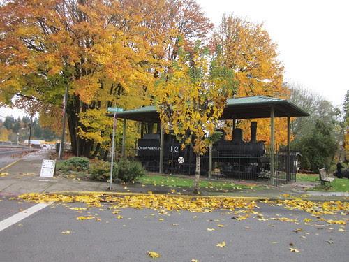 Rail car in Vernonia