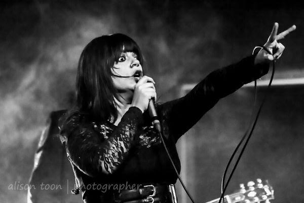 Chibi, vocals, The Birthday Massacre, Sacramento