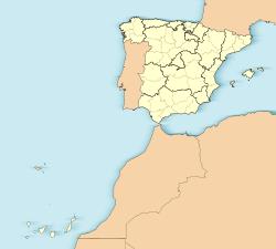 Teide ubicada en España