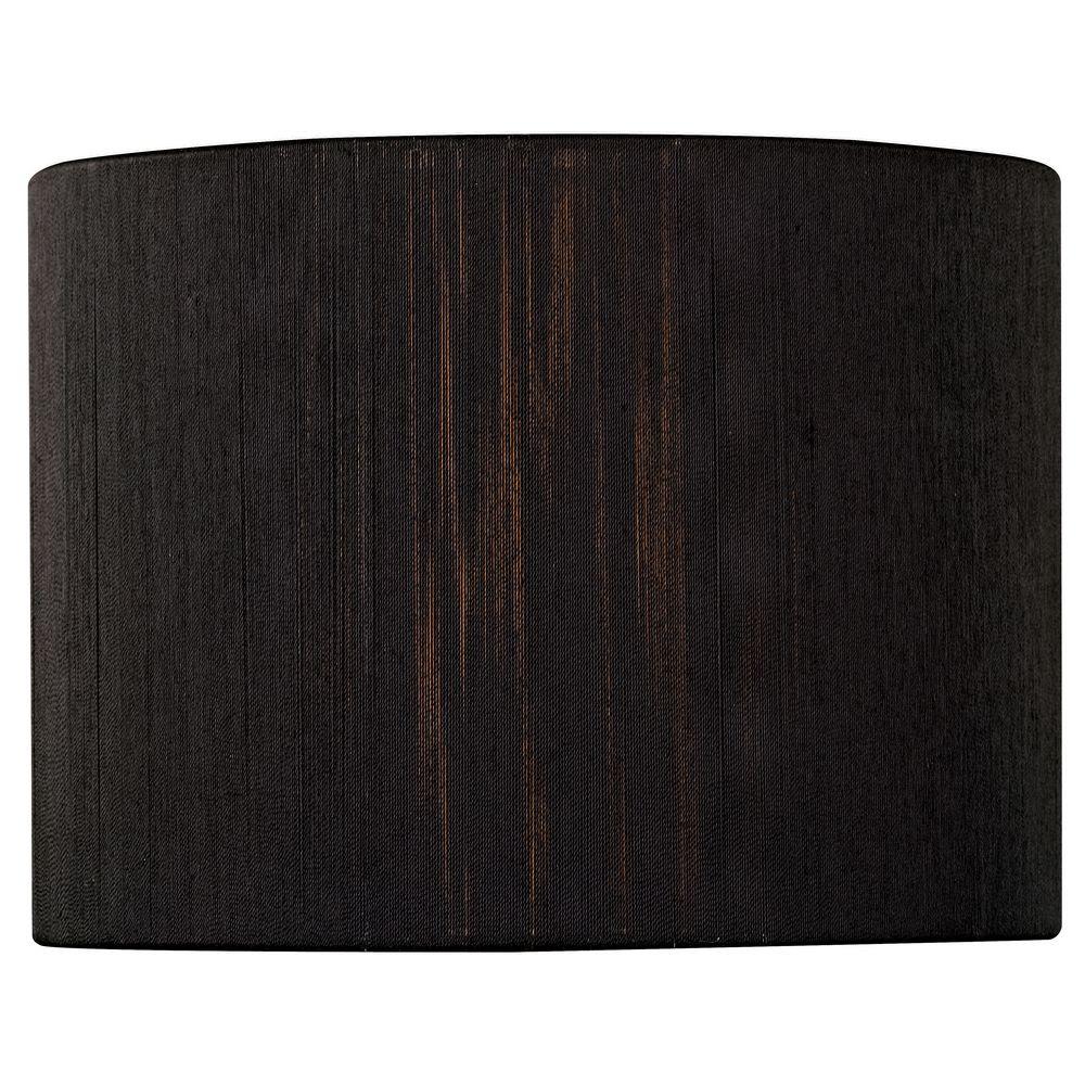 Black String Shade Chandelier 496 P Jpg: Vellum Lamp Shades: Oaks Lighting Black Pleated Drum Lamp
