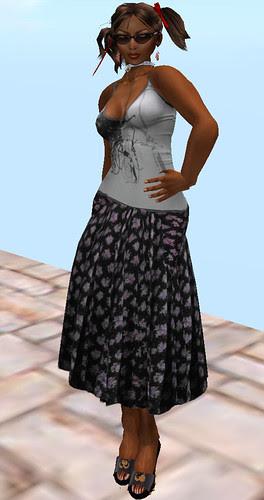 Chimney Hunt 54 Couverture Vintage flower skirt