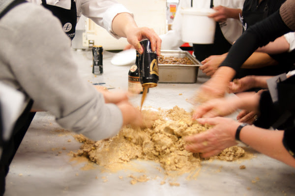 Pudding making class at the Langham