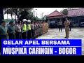 Gelar Apel Bersama TNI Polri - Sinergitas Muspika Kecamatan Caringin