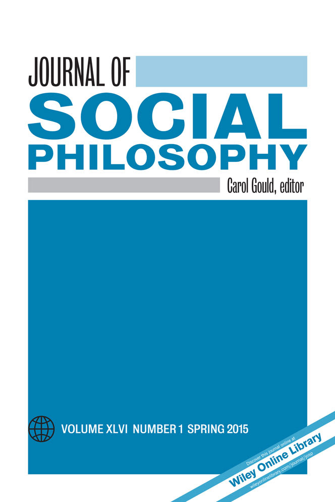 Journal of Social Philosophy