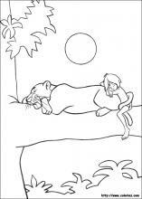 Dibujos De El Libro De La Selva Para Colorear En Colorearnet