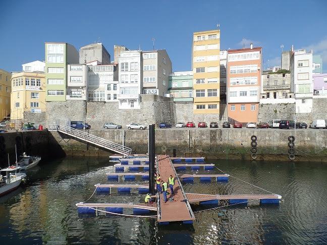 Portos de Galicia Malpica instalar dos pantalanes para embarcaciones más pequeñas