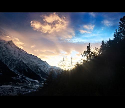 Chamonix Sunset
