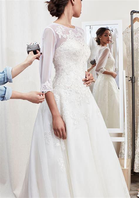 Wedding Dress and Formal Dress Alterations   David?s Bridal