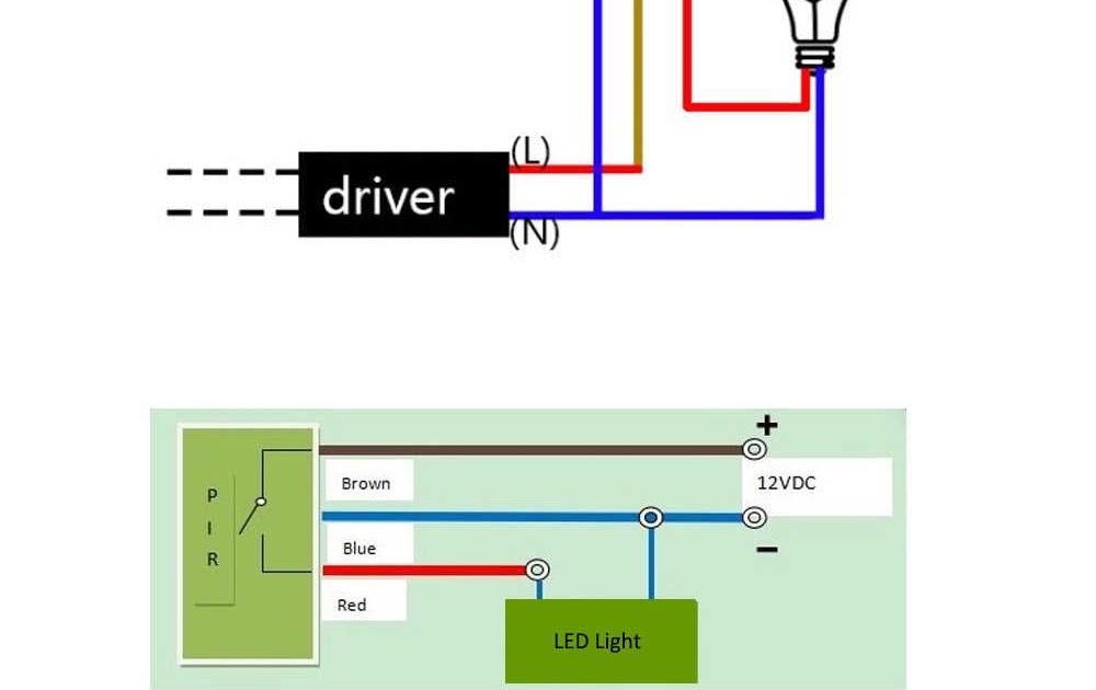 Motion Sensor Light Wiring Diagram Uk