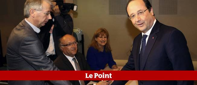 Le bulletin de François Hollande ne vaut pas plus que celui de n'importe quel citoyen, mais il a quand même coûté 15 000 euros.