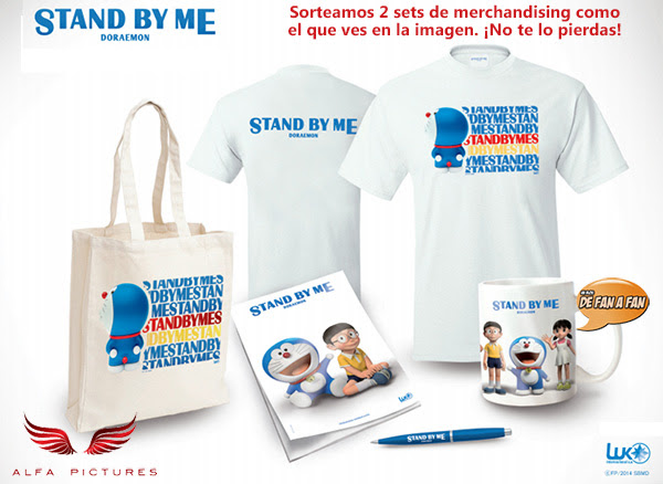 set merchandising Stand by Me Doraemon