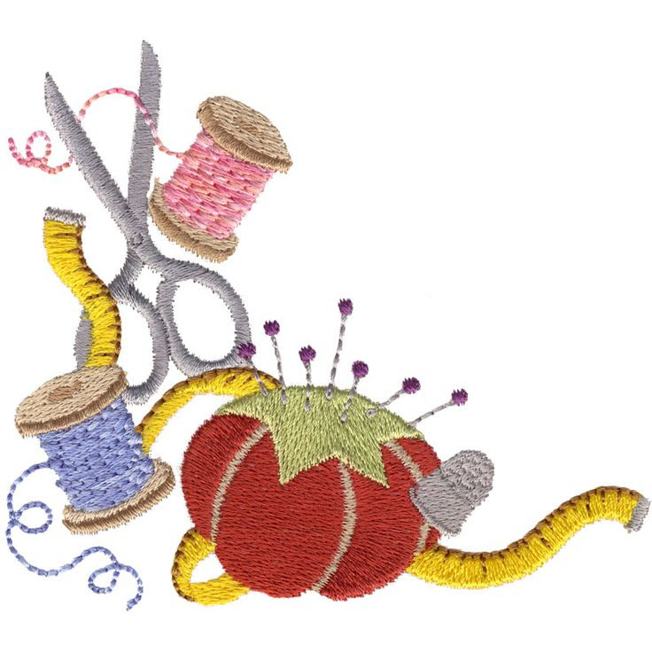 Sewing Border Clipart | Free download on ClipArtMag