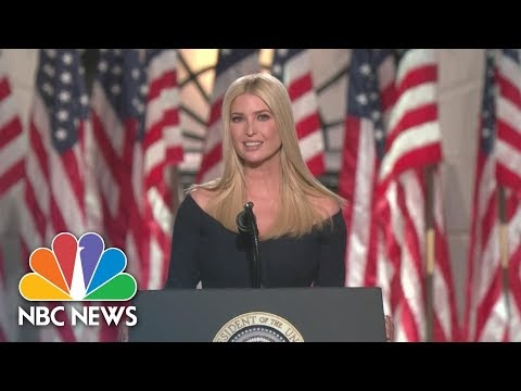 Watch Ivanka Trump's Full Speech At 2020 RNC
