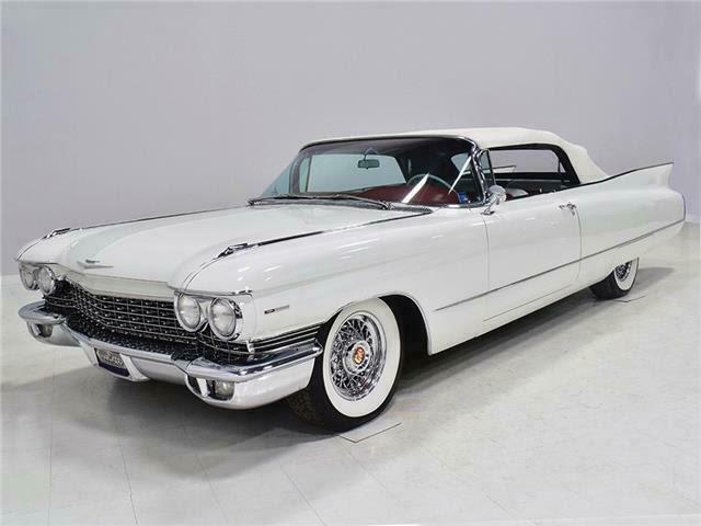 1960 Cadillac Series 62 Convertible 39078 Miles Olympic ...