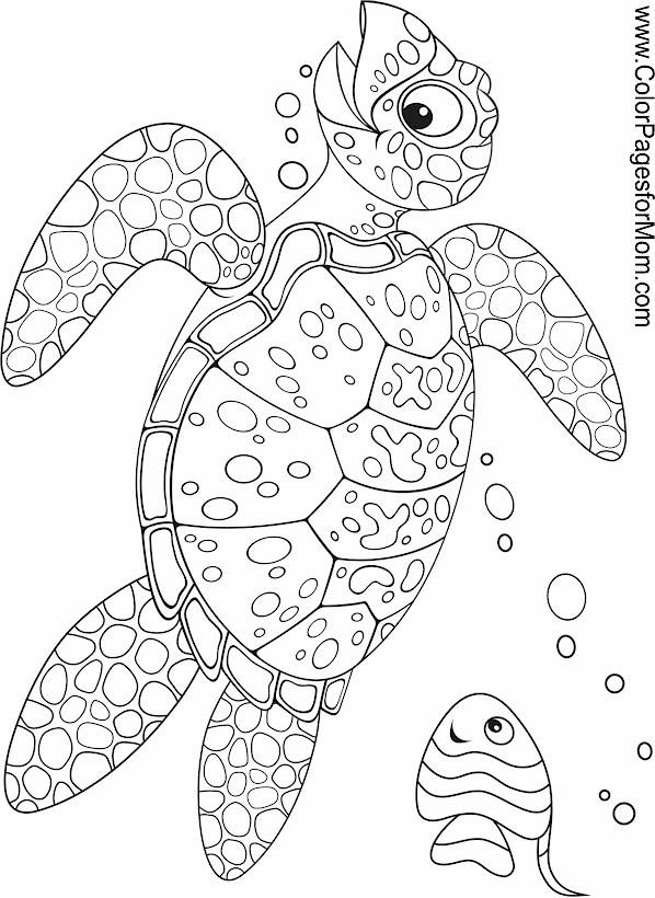 Seascape - Ocean Coloring Page 34