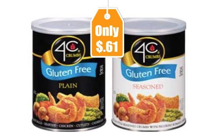 4C Gluten Free Bread Crumbs Only $0.61 at ShopRite!Living ...