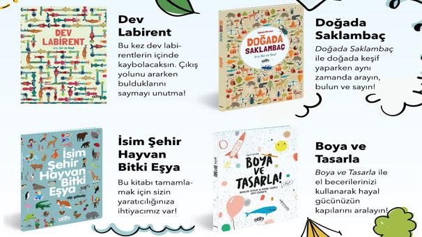 Yaz Tatilinde çocuklara 4 Etkinlik Kitabı önerisi Eğitim Haberleri