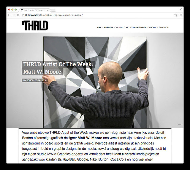 THRLD Interview.