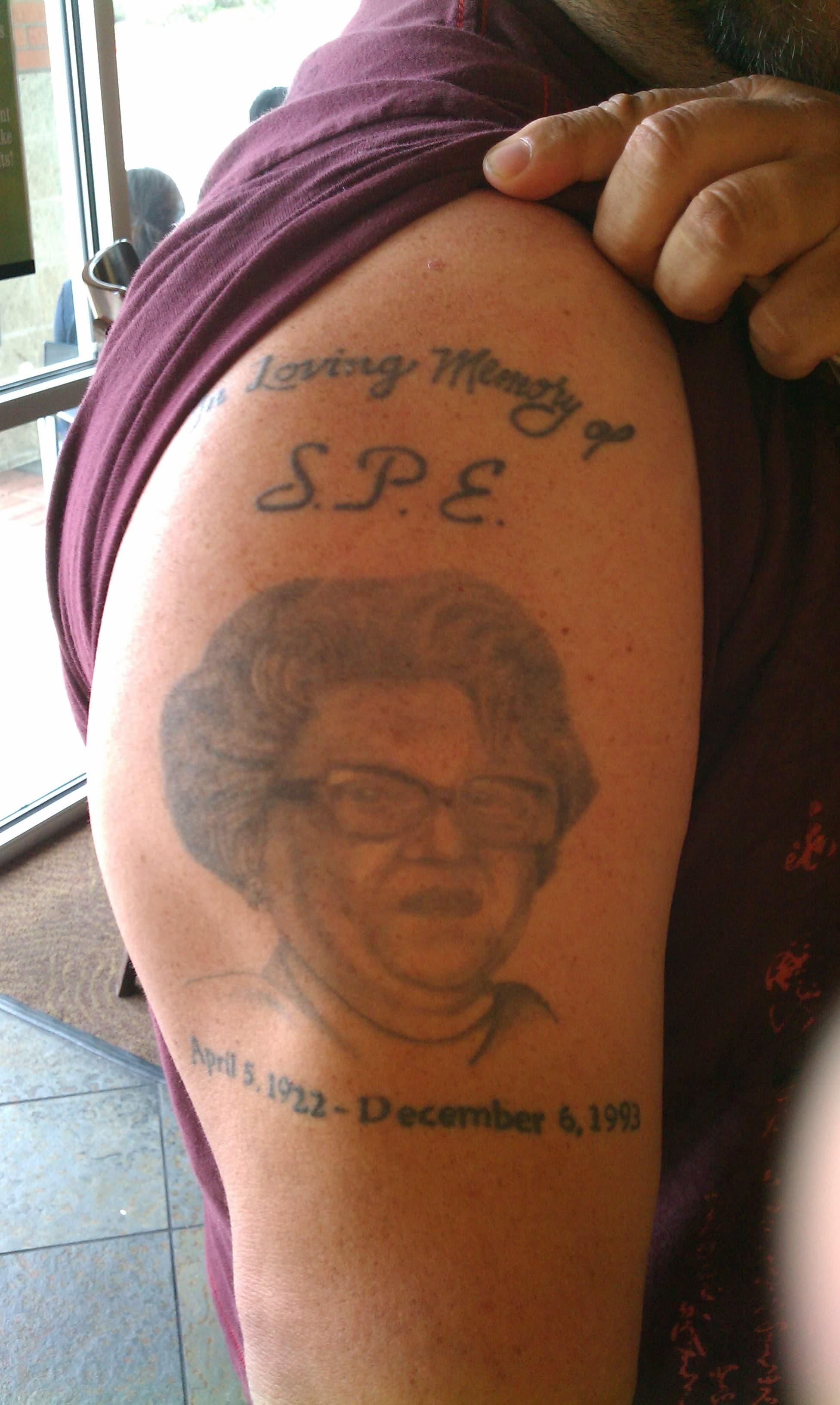 Grandma Remembrance Tattoo - Best Tattoo Ideas