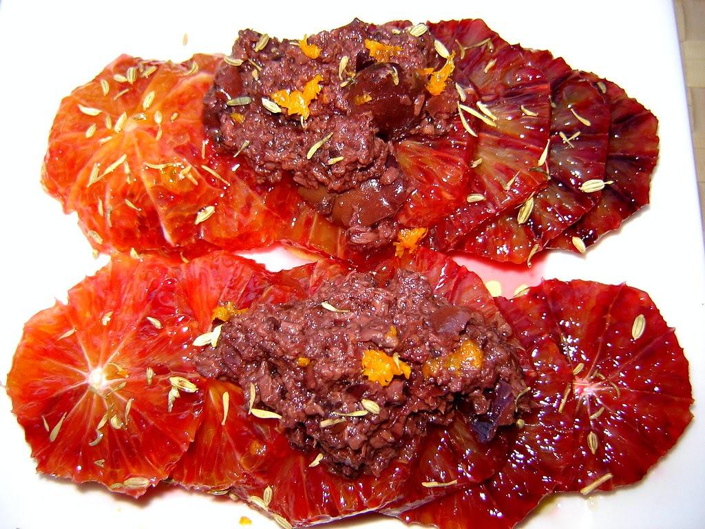 Blood Orange & Kalamata Olive Salad 1