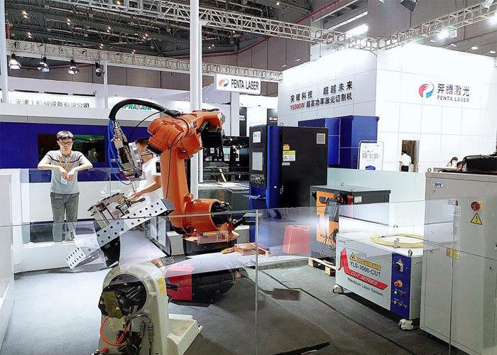Robot Las Laser Trudisc Peralatan Rumah Tangga Industri Mesin Laser Beam