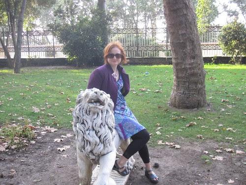 Riding a Lion, Gulhane Park