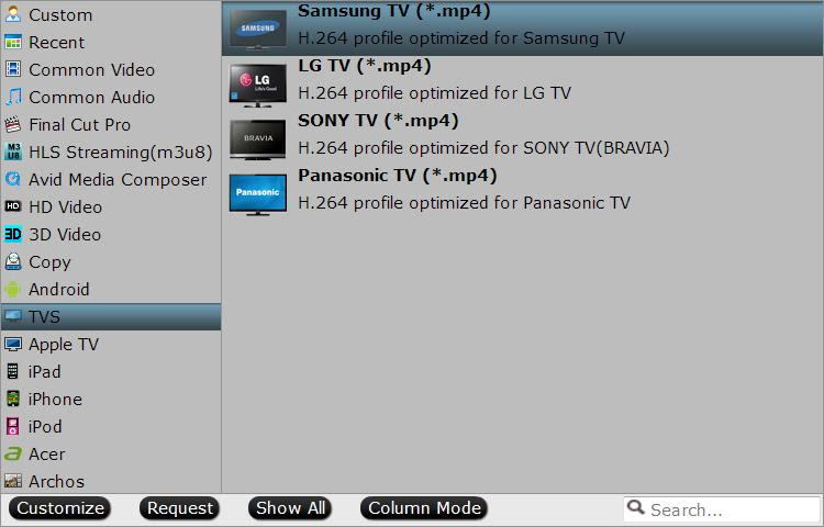 play avi on tv