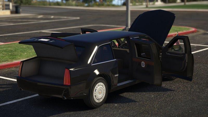 Gta 5 Cadillac The Beast Presidential State Car Add On