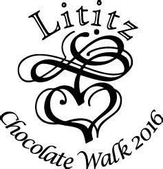 Lititz Chocolate Walk   Here is the complete list of