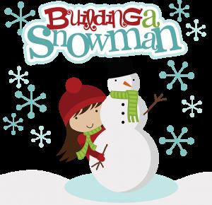 Building A Snowman SVG