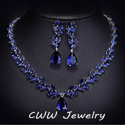 Popular Blue Sapphire Necklace Buy Cheap Blue Sapphire