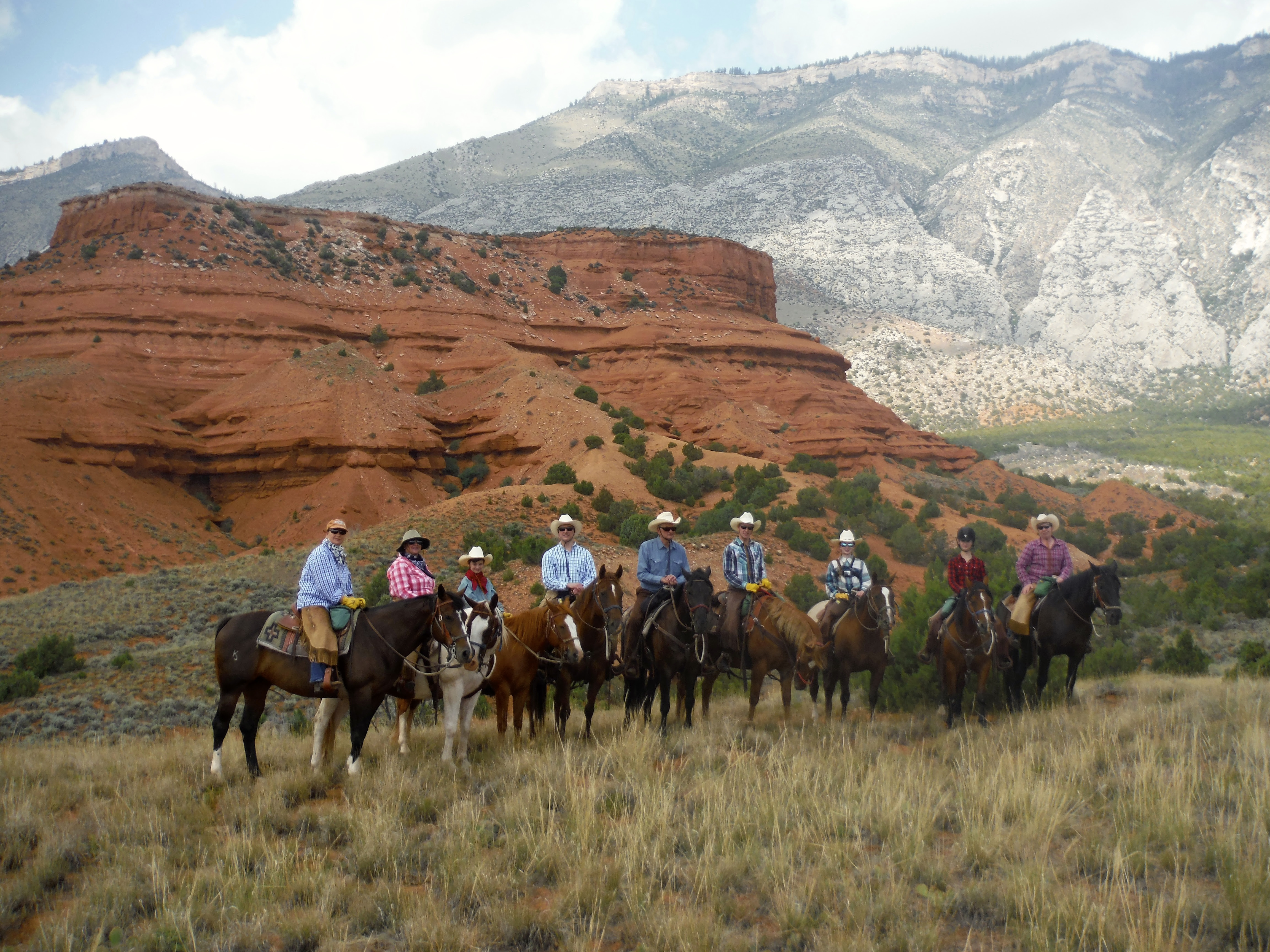 Advanced riding program  Guest Ranch Vacation at The