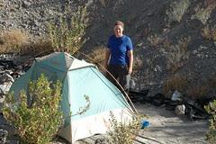 camping sauvage à Putre