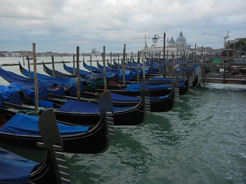 DSCN1147 _ Gondolas at Piazza di San Marco, 13 October